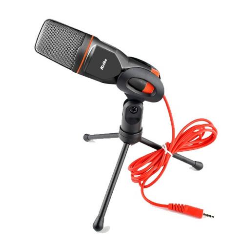 micrófono con trípode kolke kpi-047