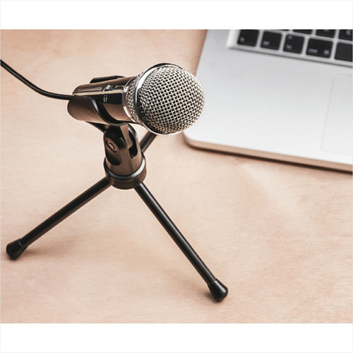 micrófono con trípode trust starzz all round / plug 3.5mm