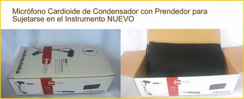 microfono condensador audio-technica pro35