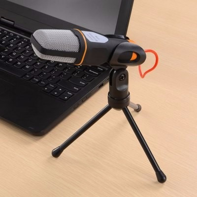 microfono condensador barato para youtube, gamer, videotutor