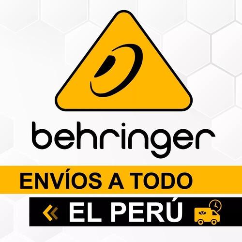 micrófono condensador behringer b-2 pro + garantía