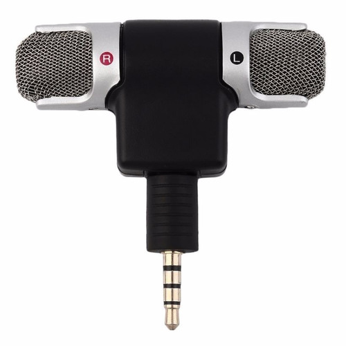 micrófono condensador estereo smartphone iphone android