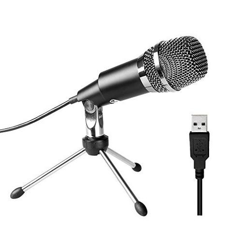 microfono condensador fifine k668 usb en stock