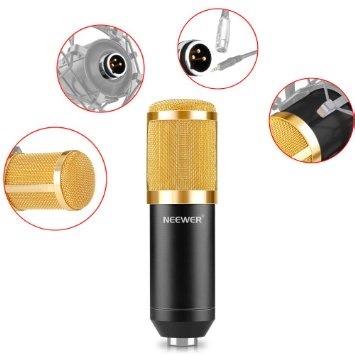f93299b901da6 Microfono Condensador Para Estudio Podcast Youtube Graba Voz ...