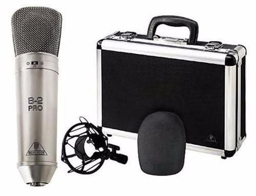 microfono condensador profesional b2 pro behringer