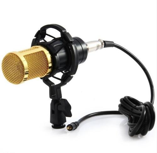 microfono condensador profesional bm800 +anillo araña+filtro