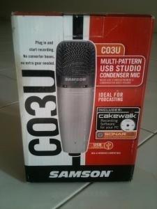 microfono condensador samson