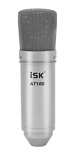 microfono condenser ideal grabacion voces e instrumentos isk