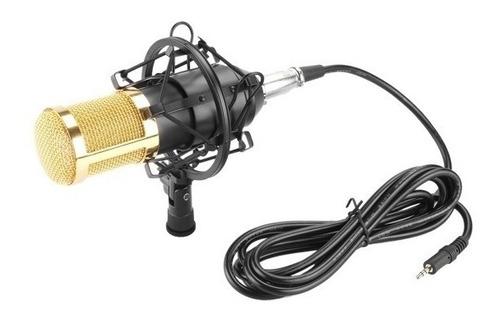 microfono condenser kit fifine brazo articulado filtro araña