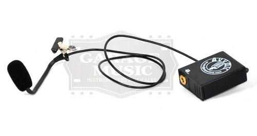 microfono condenser para cajon peruano flamenco dual