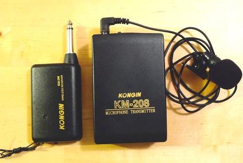 microfono corbata inhalambrico - camara nikon, canon, iphone