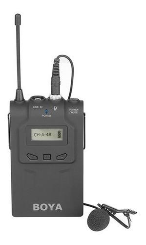 microfono corbatero inalambrico uhf boya wm8 emisor receptor