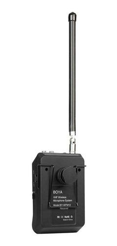 microfono corbatero inalambrico vhf video dslr by-wfm12