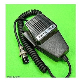 BC804NC  UNIDEN Noise Canceling 4-pin Microphone for Uniden Bearcat CB Radios