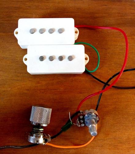 micrófono de bajo precision squier