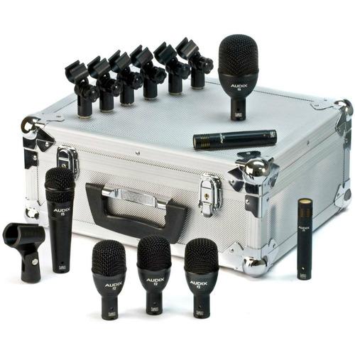 micrófono de batería set 7 audix fp7