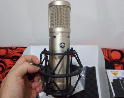microfono de condensador de tubos profesional sterling st66