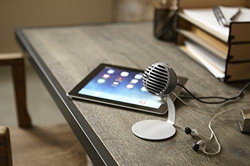 micrófono de condensador digital shure mv5 (gris) + usb y