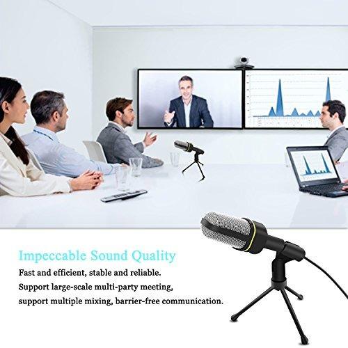 micrófono de condensador profesional venoro pl
