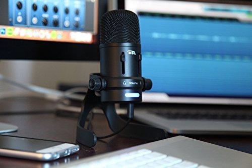 micrófono de condensador usb / cyber ¿¿acoustics