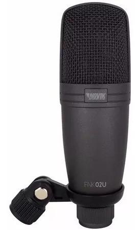 microfono  de condensador usb novik fnk 02u / abregoaudio