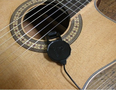 microfono de contacto cherub wcp-60g para guitarra