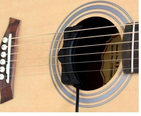 microfono de contacto homeland para guitarra acustica