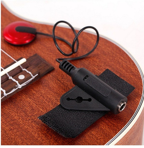 microfono de contacto piezo para guitarra ukelele violin