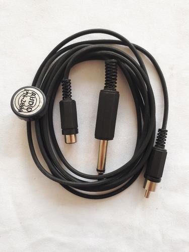 micrófono de contacto pn-2000 macho y extensión - datemusica