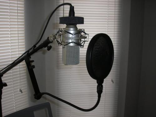 microfono de grabacion mxl 990 nuevo condensador