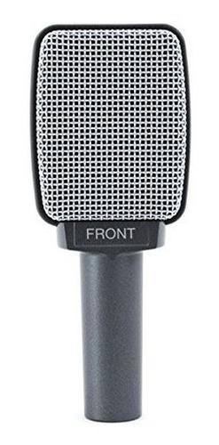 microfono de instrumento super cardioide sennheiser e609 sil
