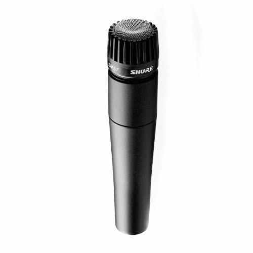 microfono de istrumento shure  sm57 - 101db