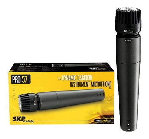 microfono de mano skp pro 57 unidireccional dinamico p