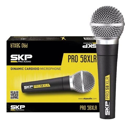 microfono de mano skp pro58 dinamico cuotas!!