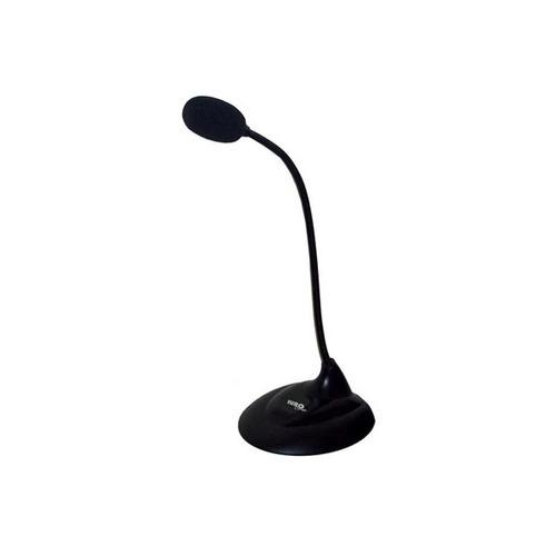 microfono de mesa eurocase eumi010 venecia negro_dracmastore