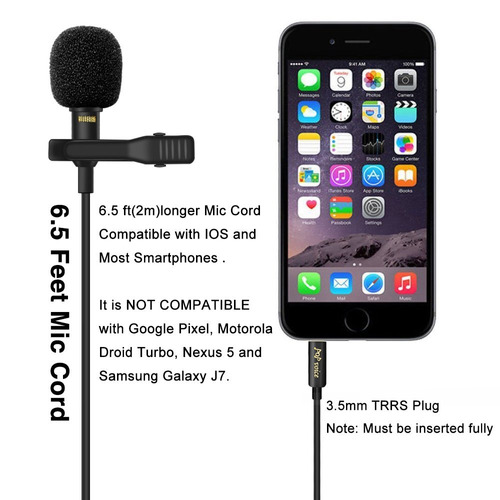 micrófono de solapa omnidireccional