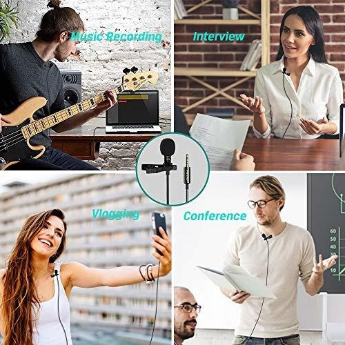 micrófono de solapa profesional lavalier lavalier micrófon