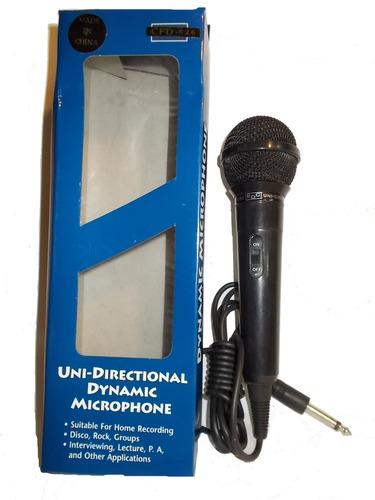 microfono dinamico cfd-526 karaoke ficha plug economico
