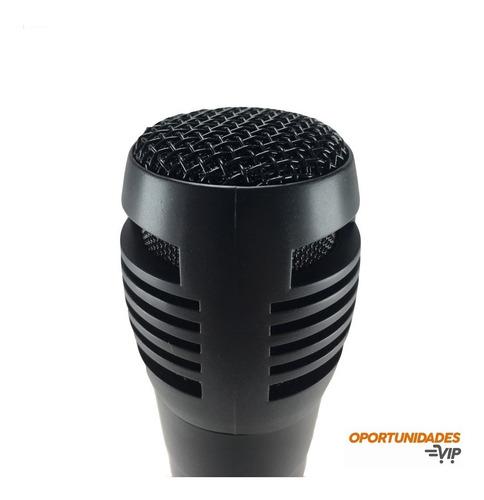 microfono dinamico con cable sm-338 alambrico karaoke