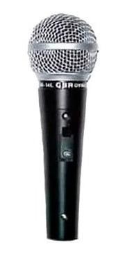 micrófono dinámico gbr sm-58 vocal de mano con cable