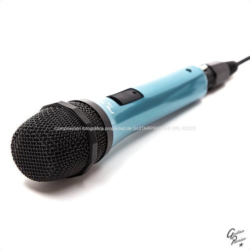 microfono dinamico karaoke + cable + pipeta + envio gratis