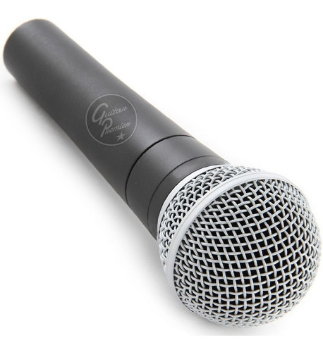microfono dinamico profesional metalico cable sn58 mod sm58