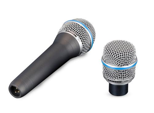 micrófono dinámico samson