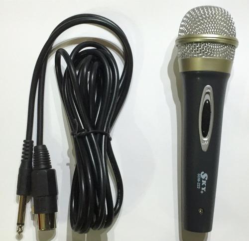 microfono dinamico sky stage sdm-222