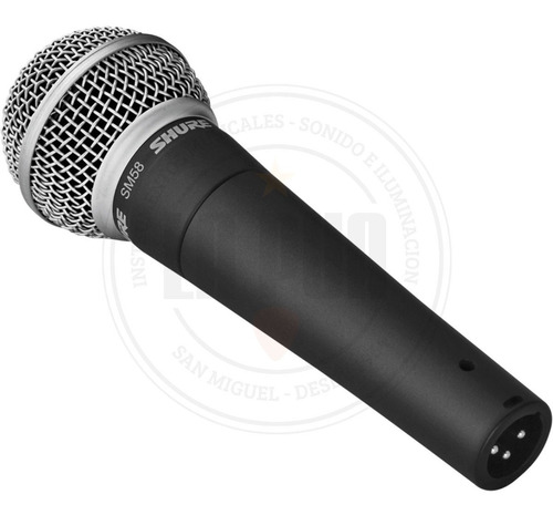 micrófono dinámico vocal shure sm58-lc