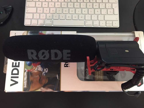 micrófono direccional shotgun røde rode videomic rycote dslr