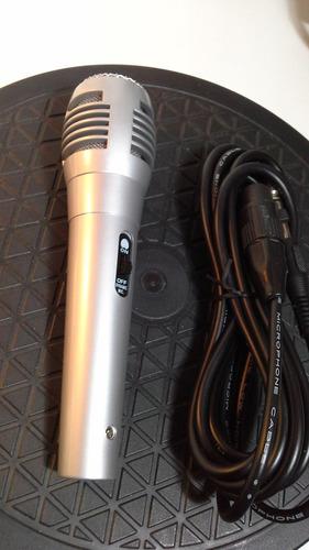 microfono dynamic con cable