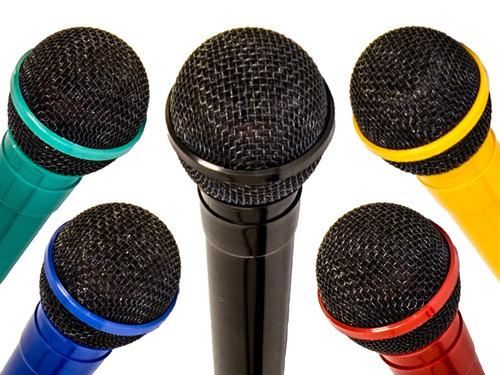 micrófono dynamic professional navepoint - azul