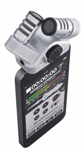 microfono estereo xy para iphone ipad ipod touch zoom iq6