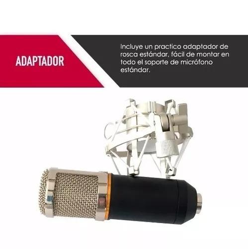 micrófono estudio condensador profesional bm800